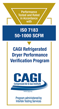 CAGI Air Compressor Performance Verification and Testing Results